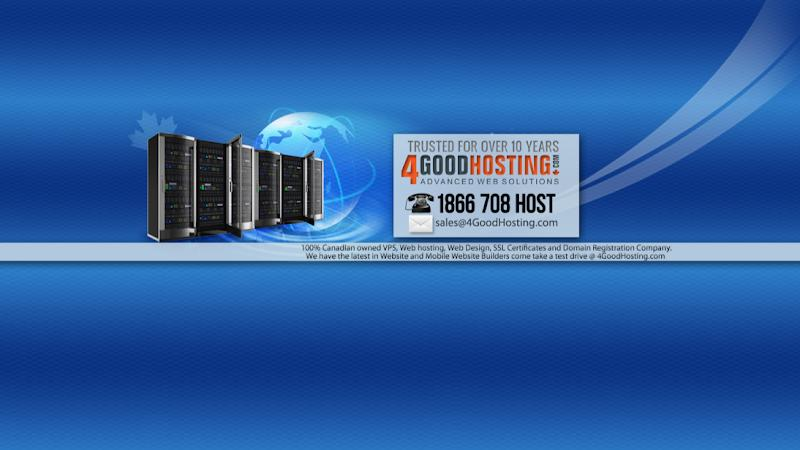 Hébergement Web 4GoodHosting à Toronto (ON) | WebMetric