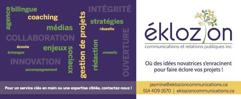 Public relations firm Éklozion communications and public relations in Vaudreuil-Dorion (QC) | WebMetric