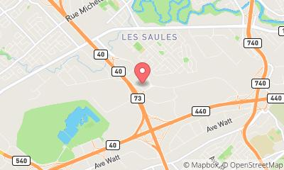 map, Software company PROCESS SYSTEMS & TECHNOLOGIES INC. in Québec (QC) | WebMetric