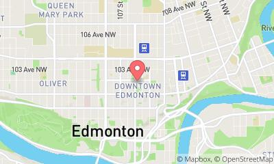 map, Photographer KTB Photography in Edmonton (AB) | WebMetric