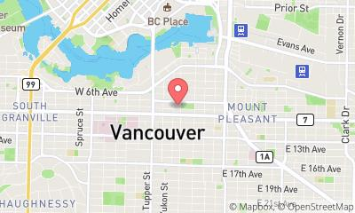 map, WebMarketers™ Digital Marketing - Vancouver