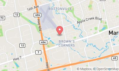 map, Telemarketing service On-Hold Marketing Inc in Markham (ON) | WebMetric