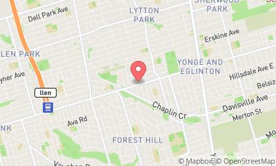 map, Market researcher JMRS in Toronto (ON) | WebMetric