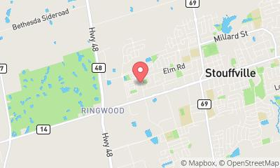 map, Training Center START UP COMMISSIONING TRAINING in Whitchurch-Stouffville (ON) | WebMetric