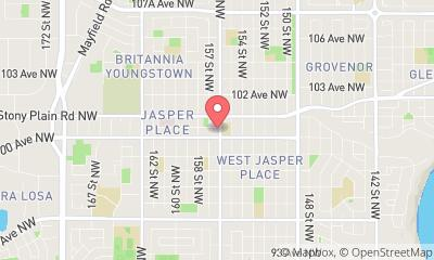 map, Photographe The Photographer Studio à Edmonton (AB) | WebMetric